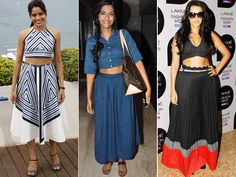 The crop top is a raging trend which has flooded the stores and many fashionista's wardrobes too. Every fashion blogger is writing about it and many celebrities are being spotted in it. Now, just because it's called a 'crop' top, it doesn't mean it has to show your midriff. There are several variations of the crop top available and you can pick the one that suits you. Take a cue from Bollywood actresses on how to wear it right.Image courtesy: BCCL