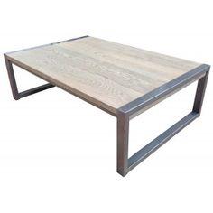 la table basse cintia classic carre ou rectangulaire utilisation du chne franais alli lacier des pieds pour une table basse lgante et raffine - Pied Pour Table Basse