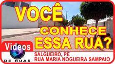 VÍDEOS DE RUAS - PE - SALGUEIRO - R. Maria Nogueira Sampaio INSCREVA-SE em nosso canal para receber novos vídeos. https://www.youtube.com/user/videosderuas?sub_confirmation=1  CURTA NOSSA FAN PAGE: https://www.facebook.com/videosderuas  Veja mais em: http://www.videosderuas.com.br/