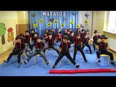 taniec chłopców z kapeluszami- Przedszkole nr 10 w Lęborku - YouTube Teaching Writing, Basketball Court, Wrestling, School, Sports, Youtube, Dancing, Lucha Libre, Hs Sports