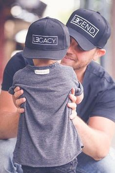 Daddy and Me Hats - Daddy and Me - Daddy and Son Matching Hats - First Fathers Day Gift - Father's Day Presents - Father Son Gift - New Dad Gift #fathersday #fathersdaygifts #giftsforhim #firstfathersday #dadgift #babies #pregnancy #dad #daddy #kids #parenting