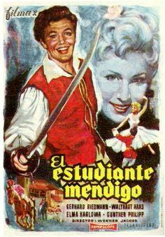 "El estudiante mendigo (1956) ""Der Bettelstudent"" de Werner Jacobs - tt0049003"