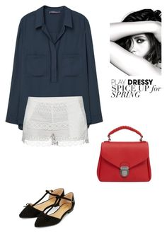"""Untitled #654"" by vero199638 on Polyvore featuring Violeta by Mango, French Connection, MANGO, Accessorize and Chanel"