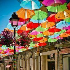 Los paraguas sin lluvia