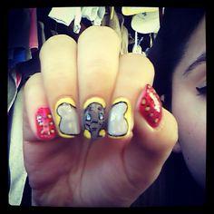 Dumbo Nail Art;