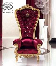 The Throne Armchair By Caspani | Pinterest | Armchairs, Gold Furniture And  Throne Chair