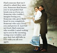 Lessons Learned in Life | Someone who proves their love.
