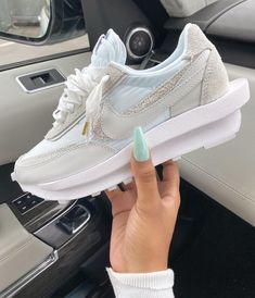Latest Sneakers, Sneakers Fashion, Shoes Sneakers, Jordan Shoes Girls, Girls Shoes, Sneaker Heels, How To Make Shoes, Custom Shoes, Sock Shoes