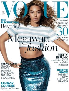 Beyonce's British Vogue cover debut | Omoge MuRa