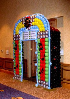 balloon jukeboxes | This (7 foot) Helium filled