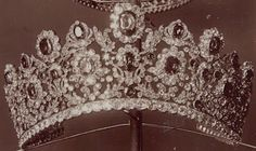 Tiara Mania: Duchesse d' Angoulême's Ruby Parure Tiara