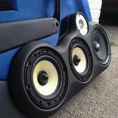 Astra G doors Custom Car Audio, Custom Cars, Focal Speakers, Custom Subwoofer Box, Car Audio Shops, Custom Car Interior, Car Audio Systems, Car Sounds, Door Panels