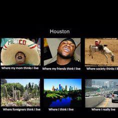 Houston! haha how accurate