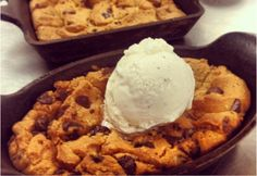 You can't pass up on dessert! Try our Cookie Skillet! #dessert #Arterra #MarriottDelMar #SanDiego