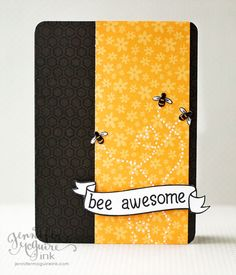 We hope you BEE having an awesome day!   BEE awesome Happy Birthday to someone who BEE awesome.