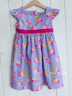 Adalyn Dress (6 - 24 Months) PDF Pattern - ithinksew.com