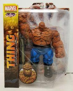 "(2014) Diamond Select Toys 8"" Marvel Fantastic Four ""Thing"" Action Figure (NIB)"