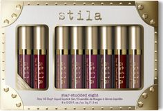 Star-Studded Eight Stay All Day Liquid Lipstick Set   @giftryapp