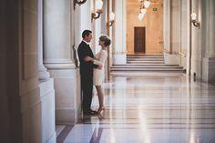 San Francisco City Hall Wedding Photography Portraits... really love this shoot!