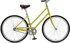 Critical Cycles Parker StepThru City Bike with Coaster Brake Mustard 44cmMedium * Check out this great product. (This is an affiliate link) #Bikes