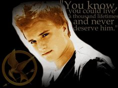 I <3 Peeta. I cannot wait for The Hunger Games to come out in less than three weeks!