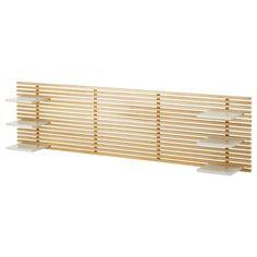 IKEA - MANDAL, Kopfteil, , Das Kopfteil kann in Verbindung mit den versetzbaren Ablagen für Betten bis 160 cm Breite genutzt werden.Kann mit MANDAL Bett mit Bettkasten oder einem Bettpodest mit Beinen kombiniert werden.Zur Montage an der Wand; in jeder gewünschten Höhe platzierbar.Wird an der Wand montiert und lässt dadurch Bodenfläche frei.Aus Massivholz, einem strapazierfähigen, lebendigen Naturmaterial.