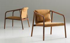 oslo lounge chair by angell, wyller & wyller for bernhardt design