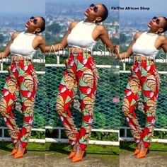 Nabila Pants by THEAFRICANSHOP on Etsy