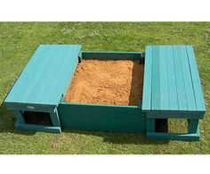 Image result for wooden sandbox plans