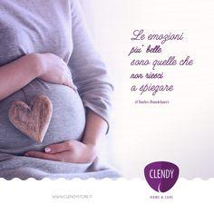 L'emozione non ha voce, come canta Celentano. È come la vita…bisogna semplicemente viverla! #aforismi #clendy #citazioni #maternità #love #baby #quotes #emozioni www.clendy.it