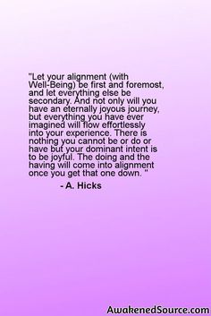 To find out more about Law Of Attraction and Abraham Hicks please visit: http://awakenedsource.com