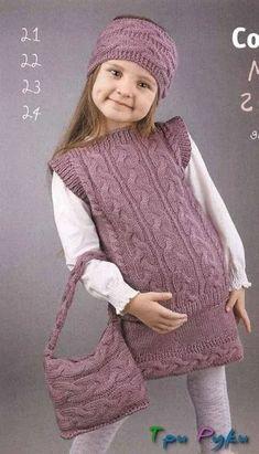 Kids Poncho Pattern, Kids Knitting Patterns, Crochet Poncho Patterns, Knitting For Kids, Crochet For Kids, Free Knitting, Crochet Baby, Free Pattern, Hat Crochet