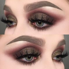 "1,537 Likes, 16 Comments - @helenesjostedt on Instagram: ""I used @anastasiabeverlyhills modern renaissance palette (red ochre, Venetian red and Cyprus…"""