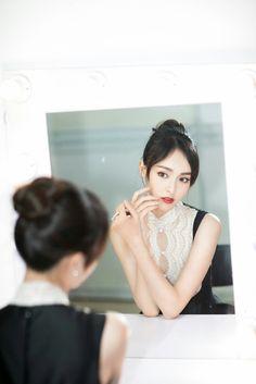 Liu Shishi, Tiffany Tang, Li Bingbing, Elegant Wedding Hair, Chinese Actress, Cute Asian Girls, Celebs, Celebrities, Beauty Women