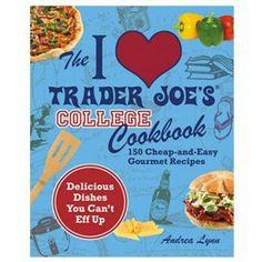 Trader Joe's College Cookbook.  Yes please!