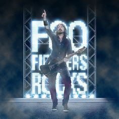 Saltaalavista Blog presents... (Part III) Designs for your Inspiration - Foo Fighters & Dave Grohl Design