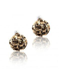 Beautiful Earrings ✓ Woven Metal Earrings ✓ Buy Beautiful Earrings Online ✓
