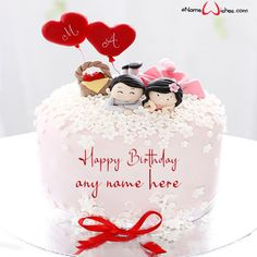 write name on pictures with eNameWishes by stylizing their names and captions by generating text on Wedding Anniversary Cake with Name with ease. Butterfly Birthday Cakes, Happy Birthday Cakes, Anniversary Cake With Name, Wedding Anniversary, Best Christmas Quotes, Christmas Fun, Images For Facebook Profile, Cake Name, Cake Images