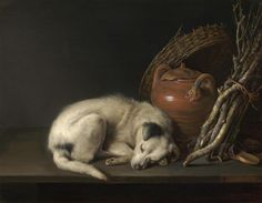 1. Sleeping Dog Gerrit Dou (Dutch, 1613Ð1675) Dutch, 1650 Oil on panel *RoseMarie and Eijk van Otterloo Collection *Courtesy, Museum of Fine...