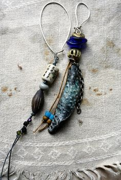 LaTouchables Bags and Things---a little story with a thread running through it...: DBC ABS I was inspired by the floating and transparent nature of Chagall's stainedglass windows Bead artists: foxpaws, Balelaceramics, edooley, and ugliebeads