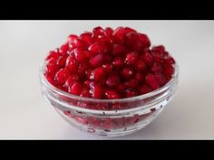 A Mess-Free Method for How to Seed Pomegranates #video #tips