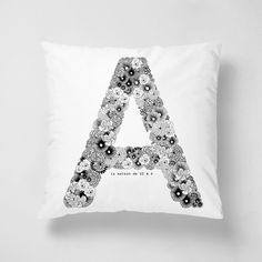 字母 A 抱枕 - BY SSADESIGN | 62Icon