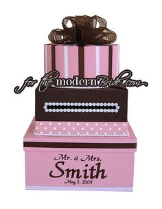 Wedding card box...Cute for birthday too.