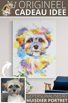 Labradoodle, Westies, Bowie, Painting & Drawing, Photoshop, Watercolor, Abstract, Canvas, Drawings