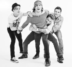McFly aka Tom Fletcher, Dougie Poynter, Danny Jones and Harry Judd