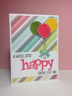 A Whole Lotta' Happy! by beesmom - Cards and Paper Crafts at Splitcoaststampers