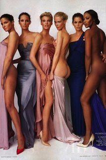 The supermodels of the 90s.