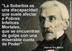 La soberbia es una discapacidad. . . . .