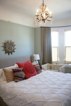 Lovely colours for a bedroom