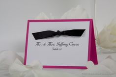 Wedding place cards wedding table number cards handmade place cards table numbers | Maple Mountain Designs
